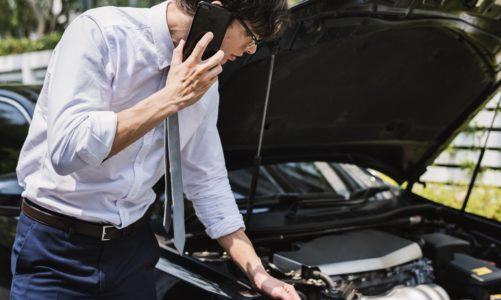 Auto in panne: cosa fare?
